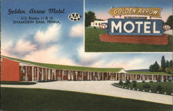 Golden Arrow Motel, U.S. Routes 11 & 15 - AAA