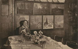 Miss Florence in her Dining Room (Florence Griswold Museum)