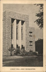 Lindley Hall - Army Headquarters - University of Kansas