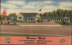 Florence Motel, 7111 Dixie Highway - Highways 42 and 25