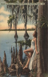 Study in Knees at Cypress Gardens in Beautiful Florida