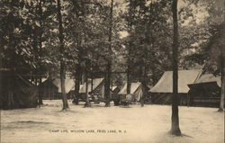 Camp Life, Wilson Lake, Fries Lake