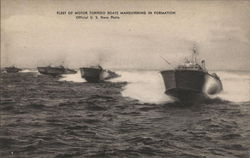 Fleet of motor torpedo boats