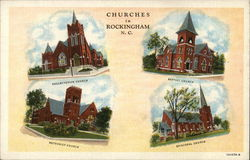 Presbyterian Church, Baptist Church, Methodist Church and Episcopal Church