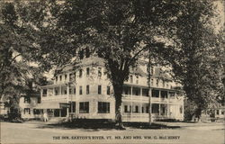 The Inn, Mr. and Mrs. Wm. G. McIlhiney