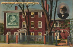 Longfellow's Home, Congress Street