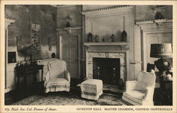 Gunston Hall Master Chamber, Chinese Chippendale - Natl. Soc. Col. Dames of Amer.