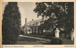 Gunston Hall, North Front, Natl. Soc. Col. Dames of Amer.