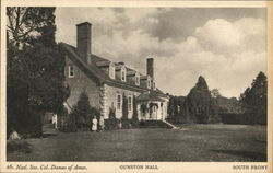 Gunston Hall, South Front, Natl. Soc. Col. Dames of Amer.