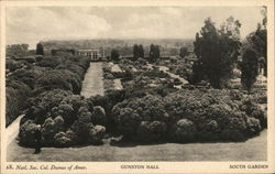 Gunston Hall - South Garden
