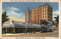 Hotel Dennis, Dennis Grill and Park Cafeteria