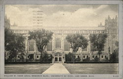 William W. Cook Legal Research Bldg., University of Mich.