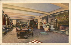 El Navajo Hotel - The Lobby