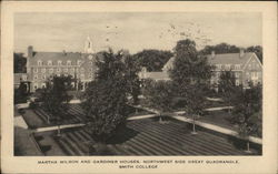 Martha Wilson and Gardiner Houses, Northwest Side Great Quadrangle, Smith College