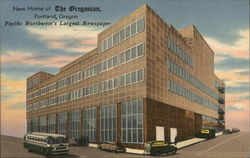 "New Home of ""The Oregonian"""