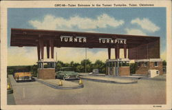 Tulsa Entrance to Turner Turnpike