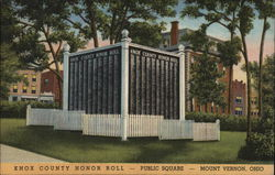 Knox County Honor Roll - Public Square