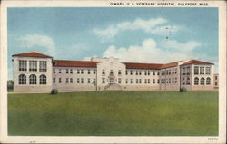 O Ward, U.S.Veterans' Hospital