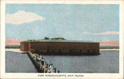 Fort Massachusetts, Ship Island
