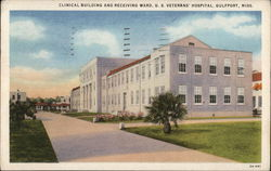 Clinical Building and Receiving Ward, U.S. Veterans' Hospital