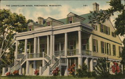 The Longfellow House Postcard