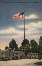 Old Glory at Post Headquarters, Gulfport Field