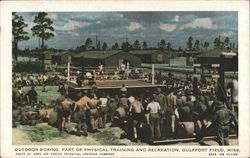Outdoor Boxing, Part of Physical Training and Recreation