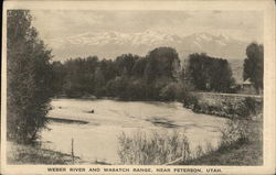 Weber River and Wasatch Range