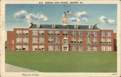 Marion High School Postcard