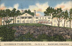 Governor Tyler Hotel on U.S. 11