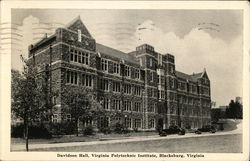 Virginia Polytechnic Institute - Davidson Hall