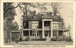 Virginia Polytechnic Institute - The President's Mansion