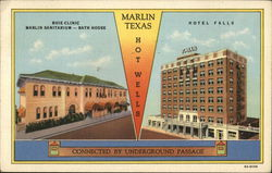 Hotel Falls, Buie Clinic and Marlin Sanitarium - Bath House