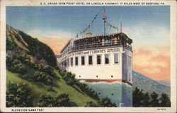 S.S. Grand View Point Hotel on Lincoln Highway