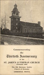 St. John's Lutheran Church Postcard
