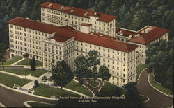 Aerial View of Emory University Hospital