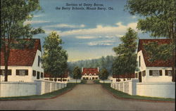 Section of Dairy Barns, the Berry Schools