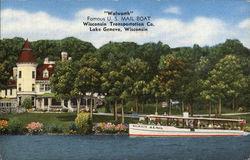 Walworth, Famous U.S. Mail Boat