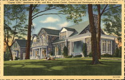 Carter Cliff - Residence of Mr. and Mrs. Garnet Carter