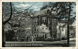 Hoffman Hall, University of the South Postcard