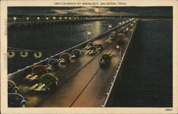 New Causeway by Moonlight Postcard