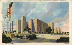 Varied Industries, Electrical and Communications Building at Texas Centennial Exposition
