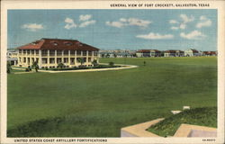 Fort Crockett Postcard