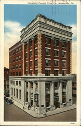 Crawford County Trust Co. Postcard