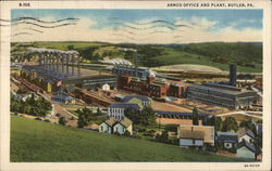 Armco Office and Plant Postcard