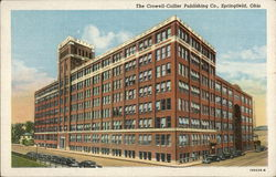 The Cromwell-Collier Publishing Company Postcard