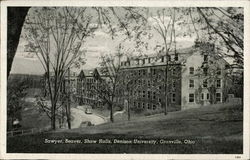 Sawyer, Beaver, Shaw Halls, Denison University