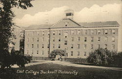 East College Bucknell University Postcard