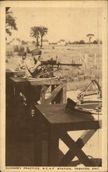 Gunnery Practice, R.C.A.F. Station