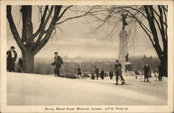 Skiing, Mount Royal
